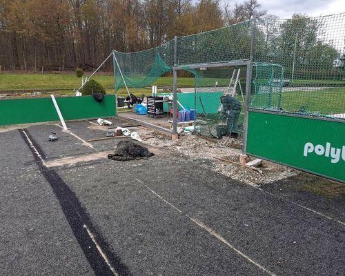 Sanierung unseres DFB Spielfeldes