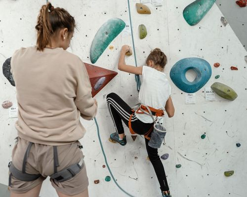 KiSS-Kletterkurs für Anfänger