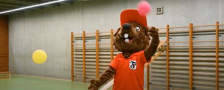 Das Sportschulen-Team schickt herzliche Grüße unter dem Motto: Sei schlau wie der Biber- trainier hin und wieder!