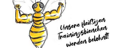 Unsere fleißigen Trainingsbienchen werden belohnt!