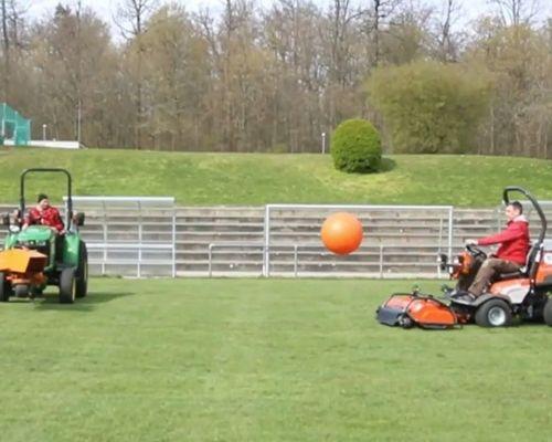 Ballchallenge des Sportvg Teams